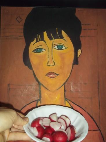Contro l'infelicità esistenziale ravanelli a colazione