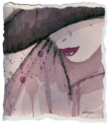 Messaggi d'amore ad alta gradazione, Miky Degni l'artista che dipinge col vino