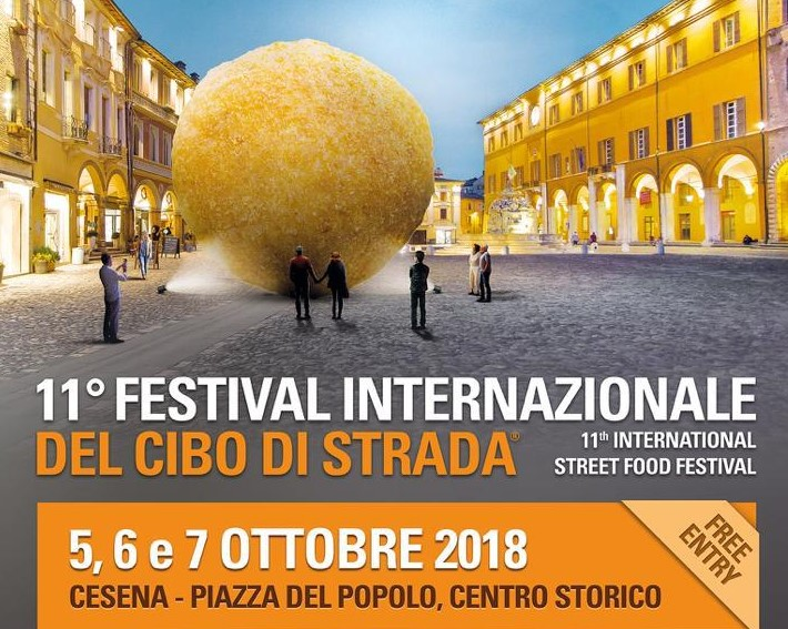 """Torna a Cesena l'unico vero """"Festival del Cibo di strada"""" <br> On the road anche due chef stellati: Faccani e Cavallucci"""