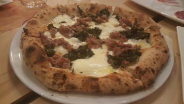 """Stile di Pummà + farine di Molino Naldoni  = una pizza """"5 stelle"""""""
